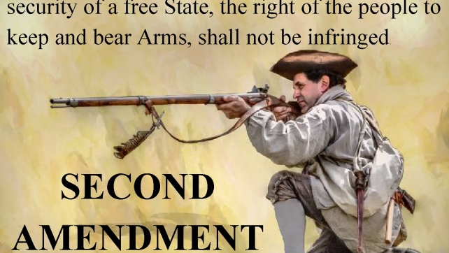 Where is our second amendment going?