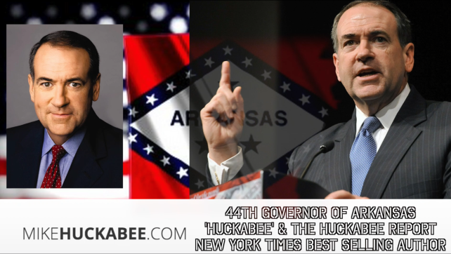 Governor Mike Huckabee and Congressman Louie Gohmert Speak with the Conservative Commandos