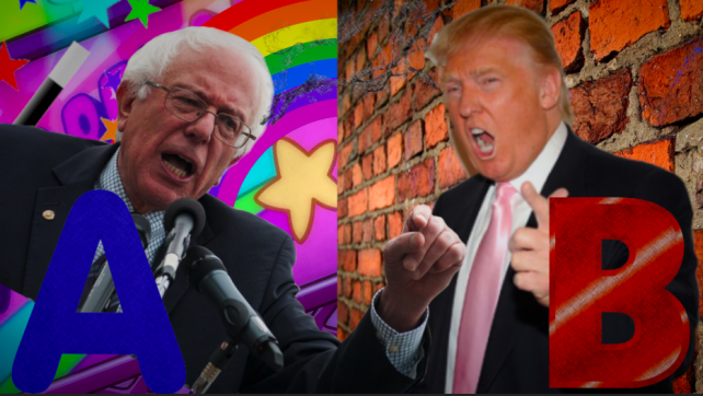 Sanders and Trump: Point A/Point B Theory