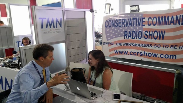 Conservative Commando Anna Little at the RNC!