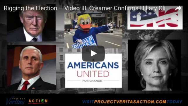 More Shady Clinton Rigging Leaked & Confirmed by Project Veritas