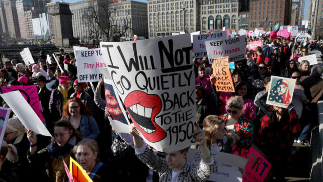 School Board Member Ran Out of Office after Criticizing Women's March